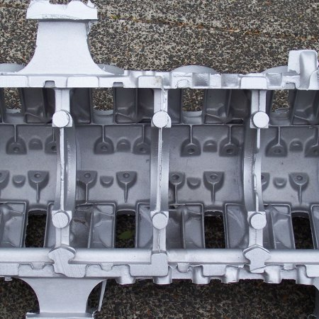 RAF 1 A Upper Crankcase Interior Detail