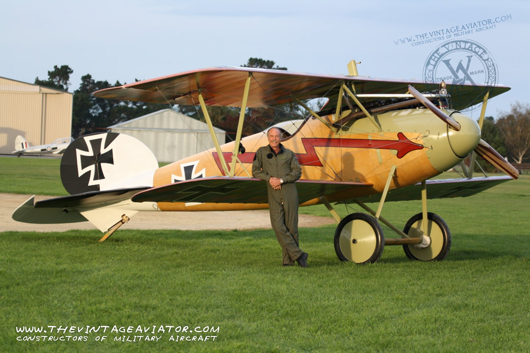 Creating A New Albatros The Vintage Aviator